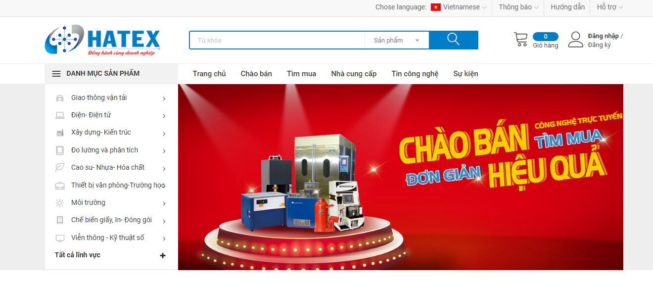 Thông báo: Quy định về đăng bán sản phẩm trên Hatex.vn