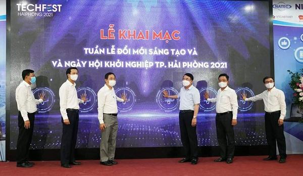 Hải Phòng: Khai mạc Tuần lễ Đổi mới sáng tạo và Ngày hội khởi nghiệp Thành phố- Techfest Haiphong 2021