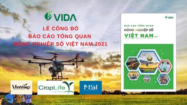Báo cáo Tổng quan Nông nghiệp số Việt Nam 2021