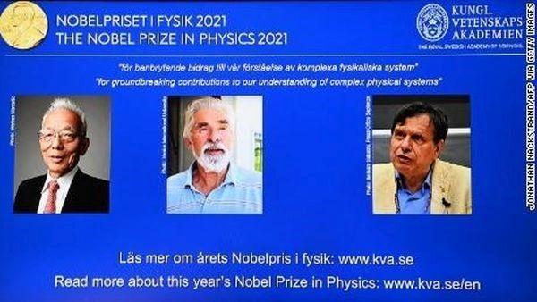 Giải Nobel Vật lý 2021