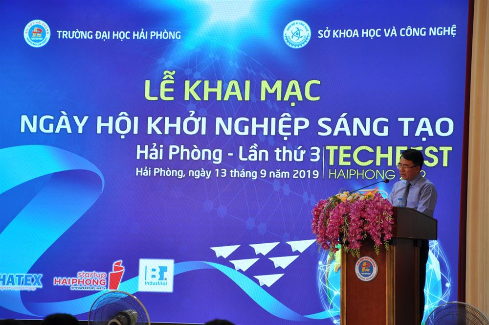 Khai mạc Ngày hội Khởi nghiệp sáng tạo Hải Phòng lần thứ 3 - Techfest Hai Phong 2019