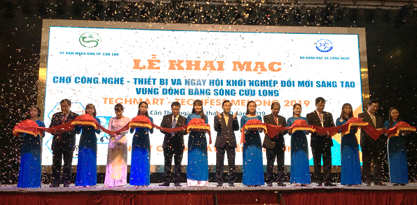 Hơn 800 kết quả KH&CN ứng dụng trong sản xuất, kinh doanh được giới thiệu tại Techmart - Techfest Mekong 2019