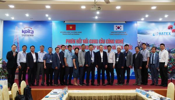 Phiên kết nối cung cầu công nghệ giữa doanh nghiệp Việt Nam và Hàn Quốc