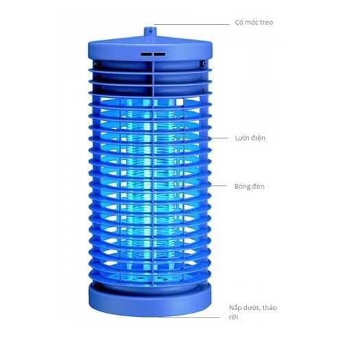 Đèn diệt côn trùng DS-D6 6W-DC