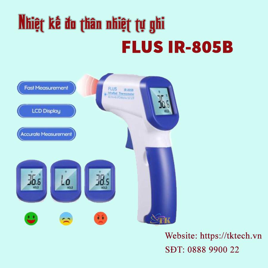 máy đo nhiệt độ thân nhiệt hồng ngoại FLUS IR-805B