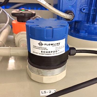 Cảm biến đo mức dạng siêu âm UG01 & UG03- Chính hãng Flowline