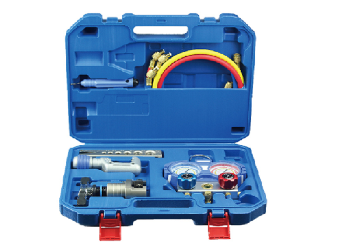 Bộ loe ống đồng gồm thêm bộ đồng hồ đo gas R410A Aitcool ATK-3- Hàng nhập khẩu
