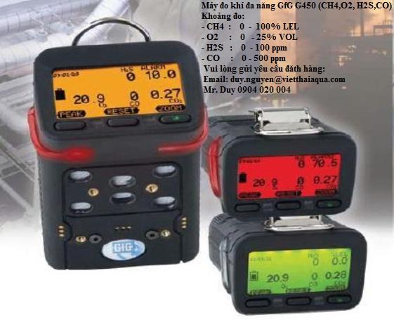 Thiết bị đo khí gas cầm tay đa năng Microtector G450