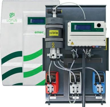 Hệ thống kiểm soát và châm hóa chất pH - Clo cho bể bơi _ PA-LDPHRH