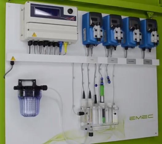 PA-M5D _ Thiết bị đo và kiểm soát 4 kênh pH, ORP, Chlorine và nhiệt độ
