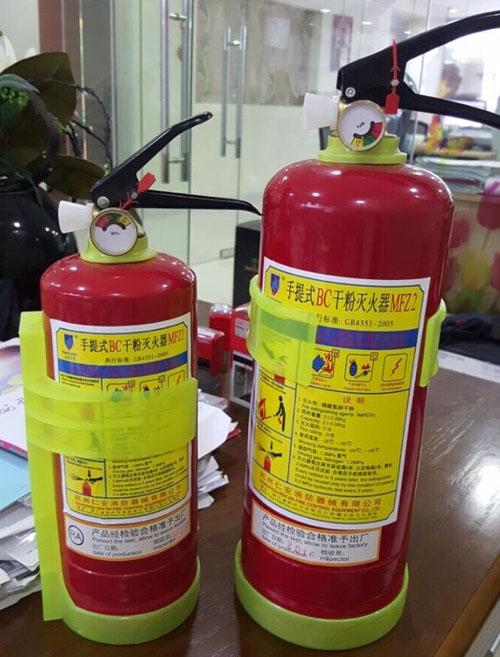 Bình chữa cháy bột BC 2kg