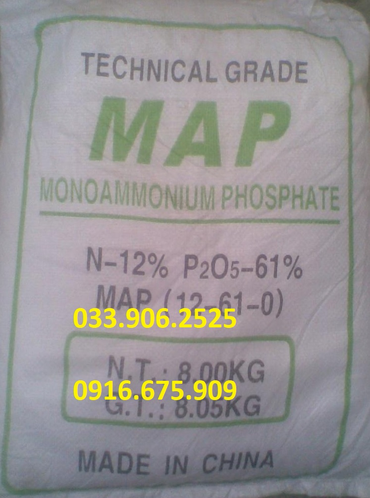 Mono Amonium Phosphate - MAP - NH4H2PO4