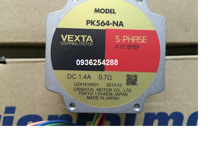 Động cơ bước Vexta PK564-NA