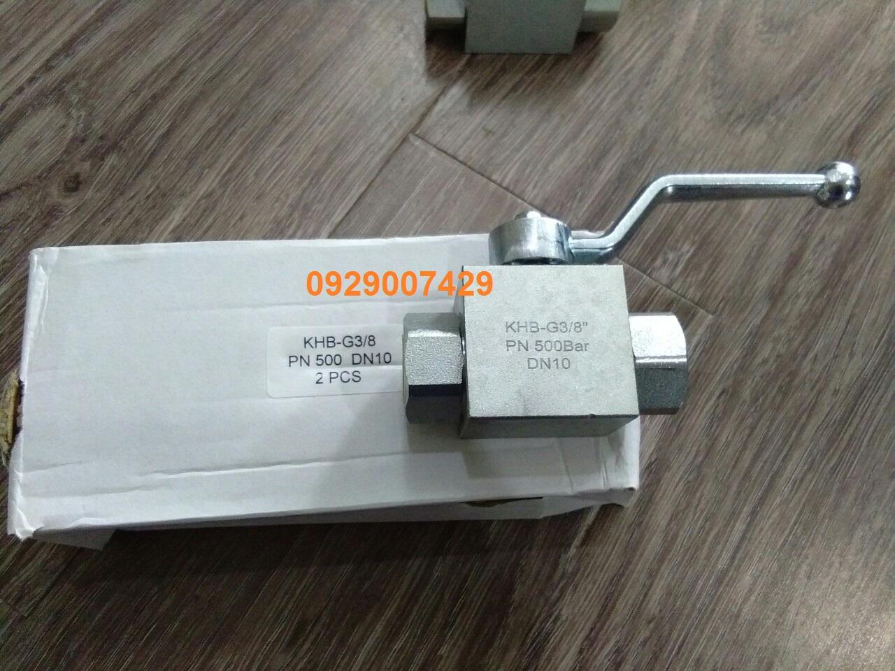 Van áp suất Hydac KHB-G3/8