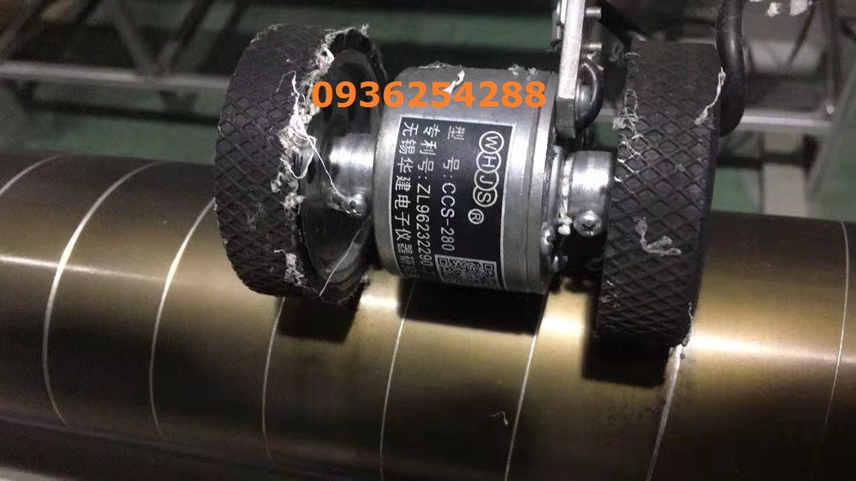 Đồng hồ đo chiều dài mét vải CCS-280