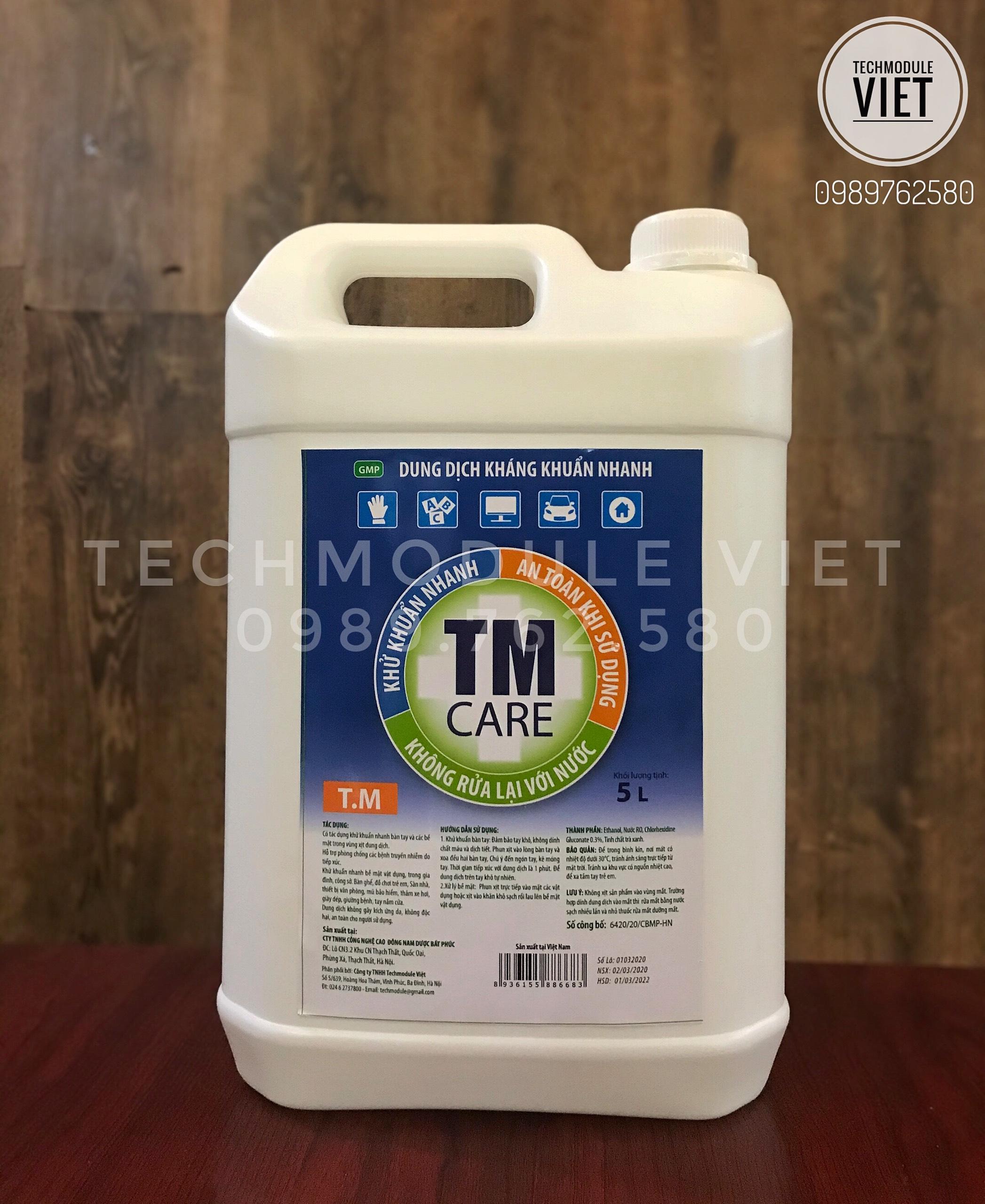 Dung dịch kháng khuẩn tay nhanh TM Care