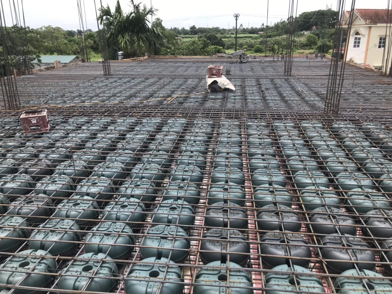 Vật liệu xây dựng sàn rỗng không dầm Span