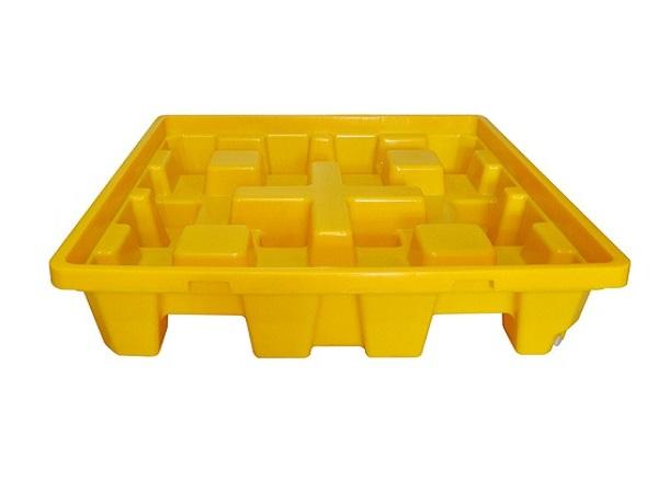 Pallet nhựa chống tràn hóa chất BlueSP-4D