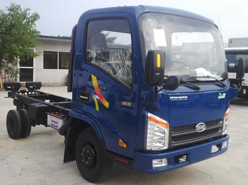 Xe tải động cơ Hyundai Veam VT125 tải trọng 1,25 tấn