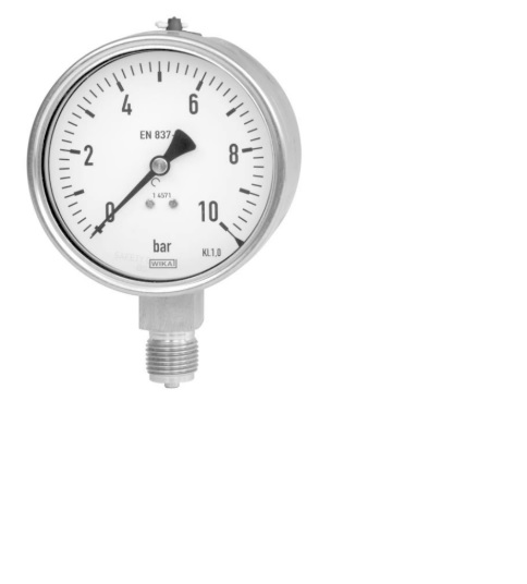 Đồng hồ áp suất - Pressure gauge 0-10 kg/cm2 Winka
