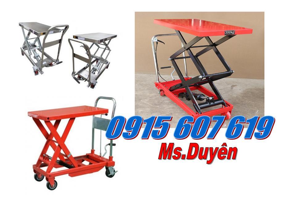 Xe nâng mặt bàn Noblelift 300kg, 500kg, 800kg