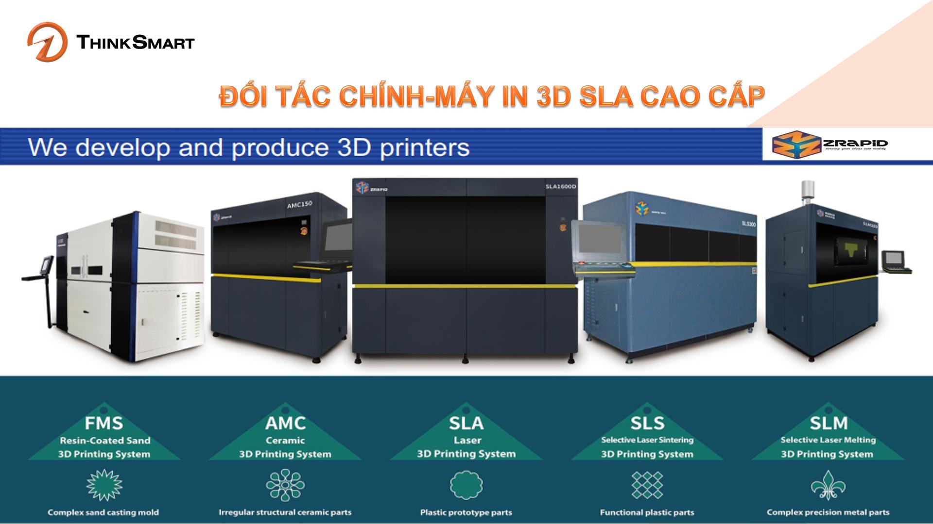 Máy in 3D cao cấp công nghiệp