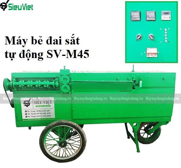 Máy bẻ đai sắt xây dựng SV-M45