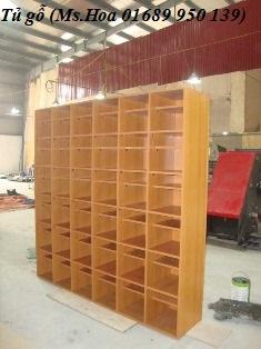 Tủ gỗ nhiều ngăn