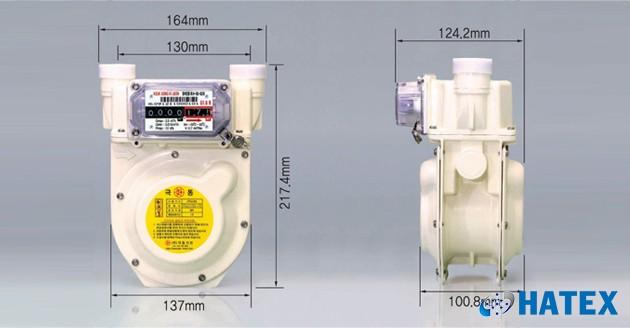 Đồng hồ đo lưu lượng khí gas G1.6