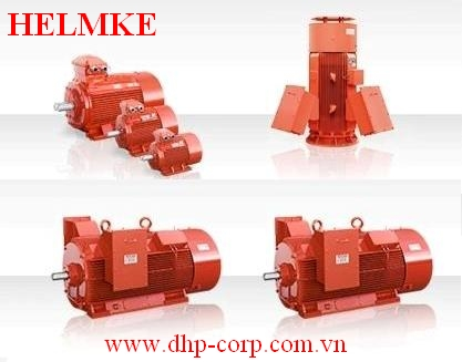 Động cơ điện 3 pha HELMKE hiệu suất cao IE3, 3000 vòng/phút