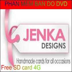 Phần mềm bản đồ dẫn đường cho DVD Jenka